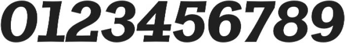 Clasica Slab UltraBlack It otf (900) Font OTHER CHARS