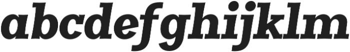 Clasica Slab UltraBlack Italic otf (900) Font LOWERCASE