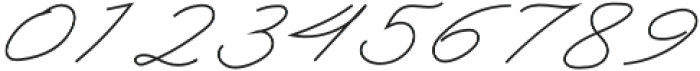Classic Signature Italic otf (400) Font OTHER CHARS