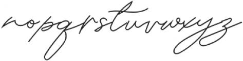 Classic Signature Italic otf (400) Font LOWERCASE
