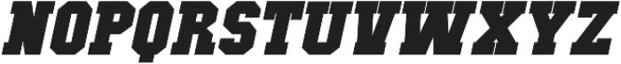 Classic U Bold Italic otf (700) Font UPPERCASE