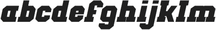 Classic U Bold Italic otf (700) Font LOWERCASE