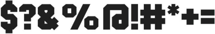 Classic U Bold otf (700) Font OTHER CHARS