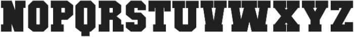 Classic U Bold otf (700) Font UPPERCASE