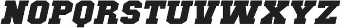 Classic U Expanded Italic otf (400) Font UPPERCASE