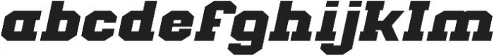 Classic U Expanded Italic otf (400) Font LOWERCASE
