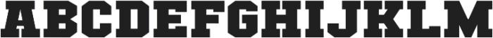 Classic U Expanded Regular otf (400) Font UPPERCASE