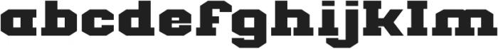 Classic U Extra-expanded Regular otf (400) Font LOWERCASE