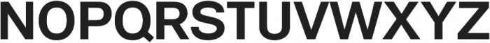 ClassicSans otf (700) Font UPPERCASE