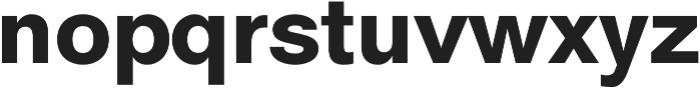 ClassicSans otf (900) Font LOWERCASE