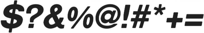 ClassicSansRounded Black Italic otf (900) Font OTHER CHARS