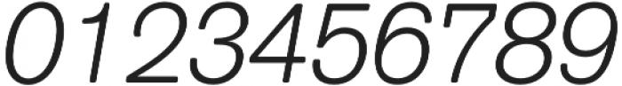 ClassicSansRounded Light Italic otf (300) Font OTHER CHARS