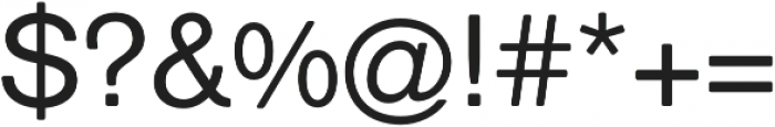 ClassicSansRounded Roman otf (400) Font OTHER CHARS