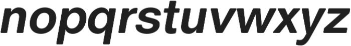 ClassicSansRounded otf (700) Font LOWERCASE