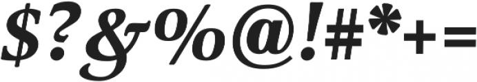 Classica Pro Bold Italic otf (700) Font OTHER CHARS