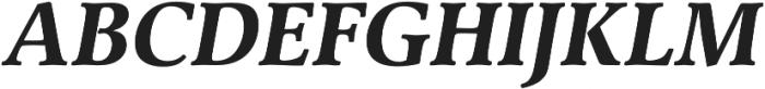 Classica Pro Bold Italic otf (700) Font UPPERCASE