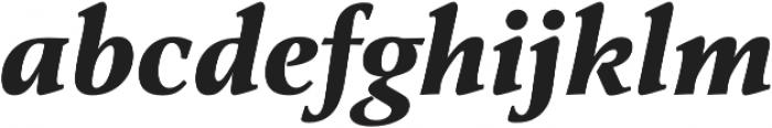 Classica Pro Bold Italic otf (700) Font LOWERCASE
