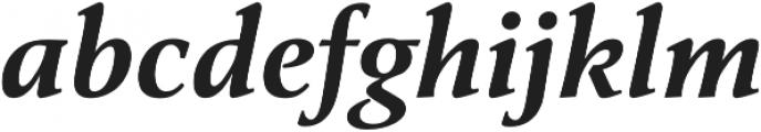 Classica Pro Demi Italic otf (400) Font LOWERCASE