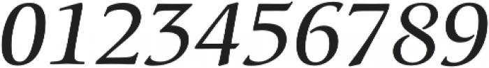 Classica Pro Italic otf (400) Font OTHER CHARS
