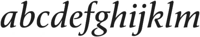 Classica Pro Italic otf (400) Font LOWERCASE