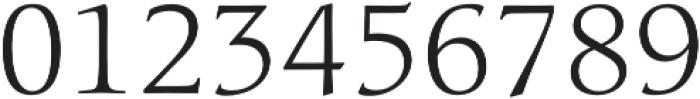 Classica Pro Light otf (300) Font OTHER CHARS