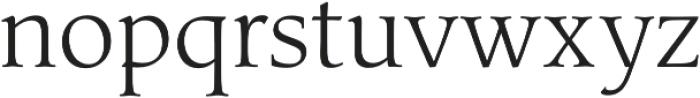 Classica Pro Light otf (300) Font LOWERCASE