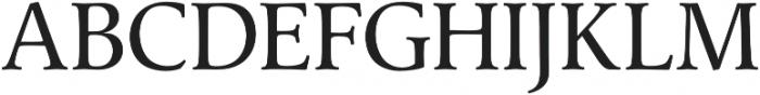 Classica Pro Regular otf (400) Font UPPERCASE