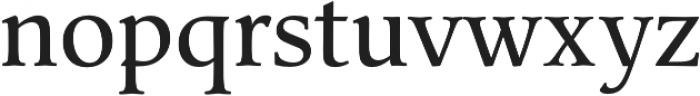 Classica Pro Regular otf (400) Font LOWERCASE