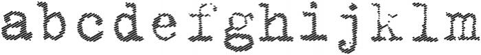 Classica otf (400) Font LOWERCASE