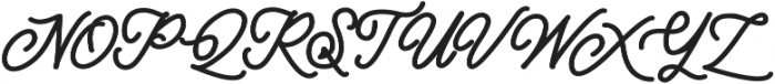 Classical Bold otf (700) Font UPPERCASE