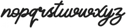 Classical Bold otf (700) Font LOWERCASE