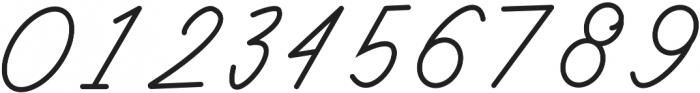 Classy Beautiful One Regular otf (400) Font OTHER CHARS
