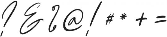 Claude Slant Alt otf (400) Font OTHER CHARS