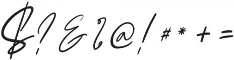 Claude Slant otf (400) Font OTHER CHARS