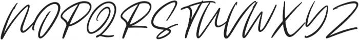 Claude Slant otf (400) Font UPPERCASE