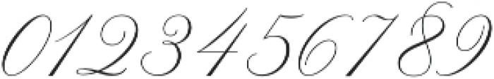 Claudya Script otf (400) Font OTHER CHARS
