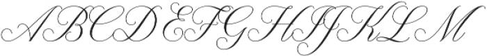 Claudya Script otf (400) Font UPPERCASE