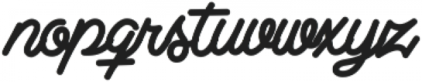 Clear Line ttf (400) Font LOWERCASE