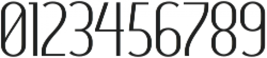 Clearlight ttf (300) Font OTHER CHARS