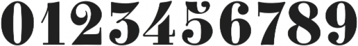 Clement Numbers otf (400) Font OTHER CHARS