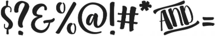 Clementine Regular otf (400) Font OTHER CHARS