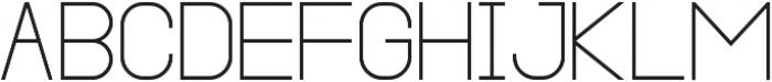 Cleon Light ttf (300) Font UPPERCASE