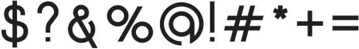 Click Bold otf (700) Font OTHER CHARS