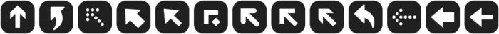 ClickBits ArrowPods1 otf (400) Font UPPERCASE