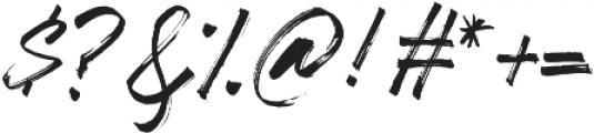 Clickbait otf (400) Font OTHER CHARS