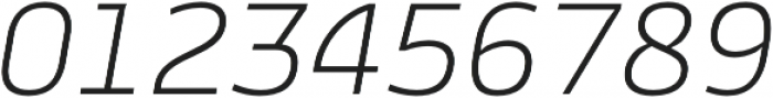Cline Sans otf (300) Font OTHER CHARS
