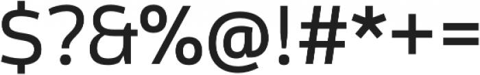 Cline Sans otf (400) Font OTHER CHARS