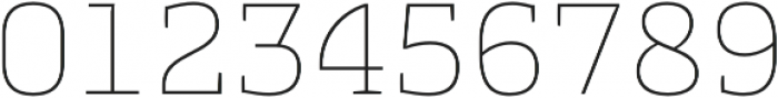 Cline Slab otf (100) Font OTHER CHARS