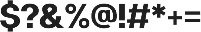 Clinica Pro Bold otf (700) Font OTHER CHARS