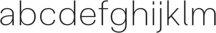 Clinica Pro ExtraLight otf (200) Font LOWERCASE